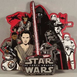 Star Wars The Force Awakens Super Jumbo Pin